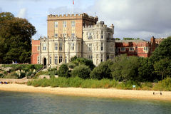 Castelo de Brownsea, Poole, Dorset imagem de stock royalty free