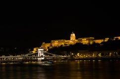 Castelo de Budapest Foto de Stock Royalty Free