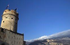 Castelo de Buonconsiglio, alto Adige de Trentino Imagens de Stock