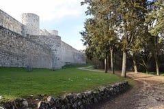Castelo de Burgos - Espanha fotos de stock royalty free