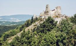 Castelo de Cachtice, república eslovaca, a Europa Central, assento de ensanguentado Foto de Stock