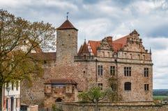 Castelo de Cadolzburg, Alemanha Imagem de Stock