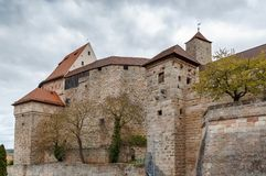 Castelo de Cadolzburg, Alemanha Fotos de Stock