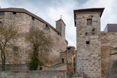 Castelo de Cadolzburg, Alemanha Imagem de Stock Royalty Free