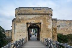 Castelo de Caen, França imagem de stock