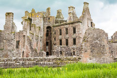 Castelo de Caerlaverock, Dumfries, Escócia Imagens de Stock Royalty Free