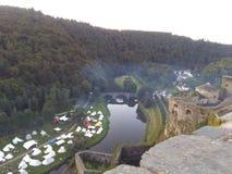 Castelo de Caldo Foto de Stock Royalty Free