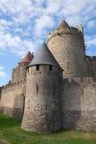 Castelo de Carcassonne Fotografia de Stock