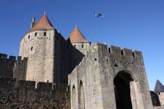Castelo de Carcassonne Imagem de Stock Royalty Free