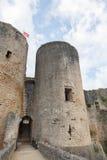 Castelo de Carcassonne - sul de France imagens de stock