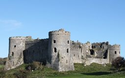 Castelo de Carew Imagens de Stock