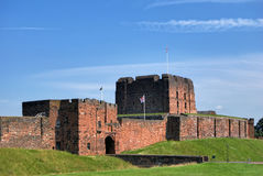 Castelo de Carlisle Imagem de Stock