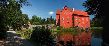 Castelo de Cervena Lhota Imagem de Stock Royalty Free