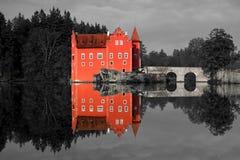 Castelo de Cervena Lhota, república checa Fotos de Stock Royalty Free
