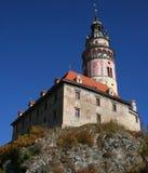 Castelo de Cesky Krumlov Imagem de Stock Royalty Free