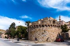 Castelo de Cesme, Izmir Foto de Stock