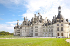 Castelo de Chambord Foto de Stock