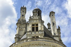 Castelo de Chambord, France Imagem de Stock Royalty Free