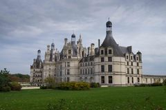 Castelo de chambord, Loire Valley, france Imagem de Stock Royalty Free