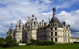 Castelo de Chambord no Loire Valley, França imagens de stock