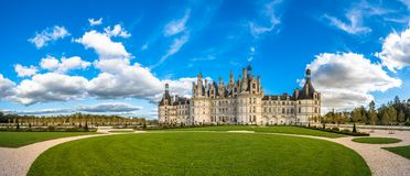 Castelo de Chambord, o castelo o maior no Loire Valley, Fra imagens de stock