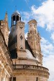 Castelo de Chaumont Imagem de Stock Royalty Free