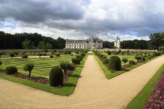 Castelo De Chenonceau, Loire Valley, France imagem de stock