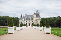 Castelo de Chenonceau na região de Loire Valley foto de stock royalty free