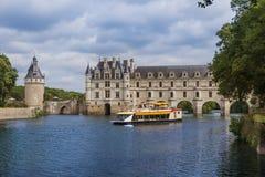 Castelo de Chenonceau no Loire Valley - o França imagem de stock royalty free
