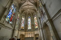 Castelo de Chenonceau, região de Loire, França 27 de junho de 2017 instantâneo Imagens de Stock Royalty Free