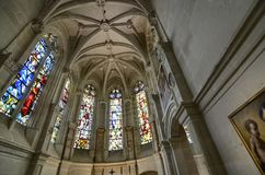 Castelo de Chenonceau, região de Loire, França 27 de junho de 2017 instantâneo Imagem de Stock