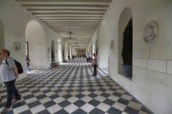 Castelo de Chenonceau, região de Loire, França 27 de junho de 2017 instantâneo fotos de stock royalty free