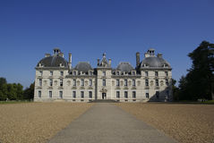 Castelo de Cheverny Foto de Stock Royalty Free