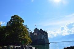 Castelo de Chillon Imagem de Stock Royalty Free
