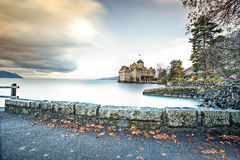 Castelo de Chillon Fotografia de Stock Royalty Free