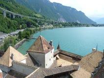 Castelo de Chillon Fotos de Stock