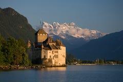 Castelo de Chillon Fotos de Stock Royalty Free