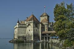Castelo de Chillon Imagem de Stock