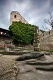Castelo de Chojnik, ra do ³ de Jelenia GÃ, Polônia fotografia de stock royalty free