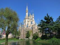 Castelo de Cinderella Foto de Stock Royalty Free