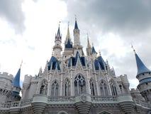 Castelo de Cinderellas imagem de stock