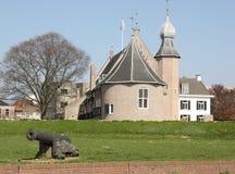 Castelo de Coevorden imagem de stock royalty free