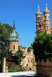 Castelo de Colomares, Benalmadena fotos de stock