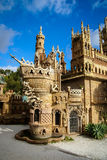 Castelo de Colomares, Benalmadena, a Andaluzia, Espanha imagens de stock royalty free