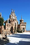 Castelo de Colomares, Benalmadena fotografia de stock
