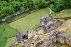 Castelo de Commargue Foto de Stock