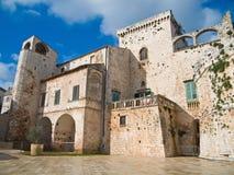 Castelo de Conversano. Apulia. Fotografia de Stock Royalty Free