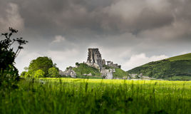 Castelo de Corfe Imagens de Stock