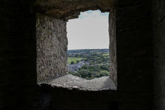 Castelo de Corfe Foto de Stock Royalty Free
