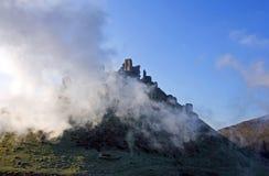 Castelo de Corfe, em Swanage, Dorset, Inglaterra do sul Fotografia de Stock Royalty Free
